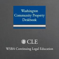 Washington Community Property Deskbook (4th ed. 2014)